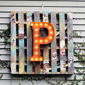 Letter Light P - product images  of
