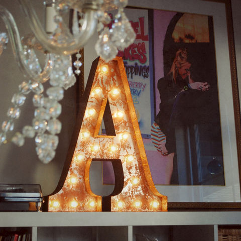 Letter,Light,C,letter lights Vintage industrial reclaimed Letter Lights