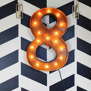 Letter Light Number 8 - product images  of