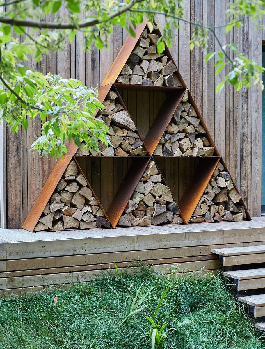 Triangular Log Pods - product images  of