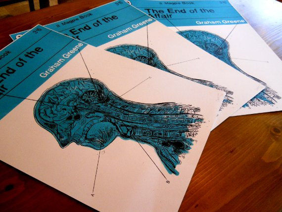 The End Of The Affair (Book Cover by SAVWO) A2 Screen-Print - product images  of