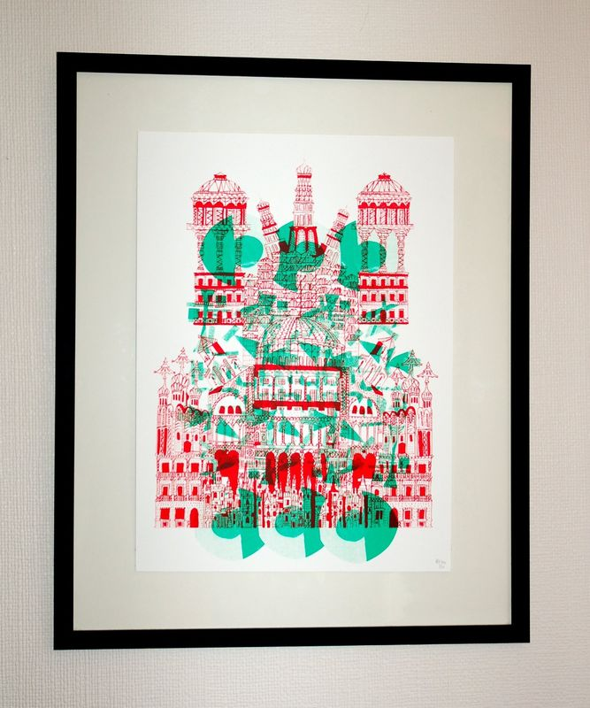 Untitled by Aliyah Hussain (A2 Screen-Print) - product images  of