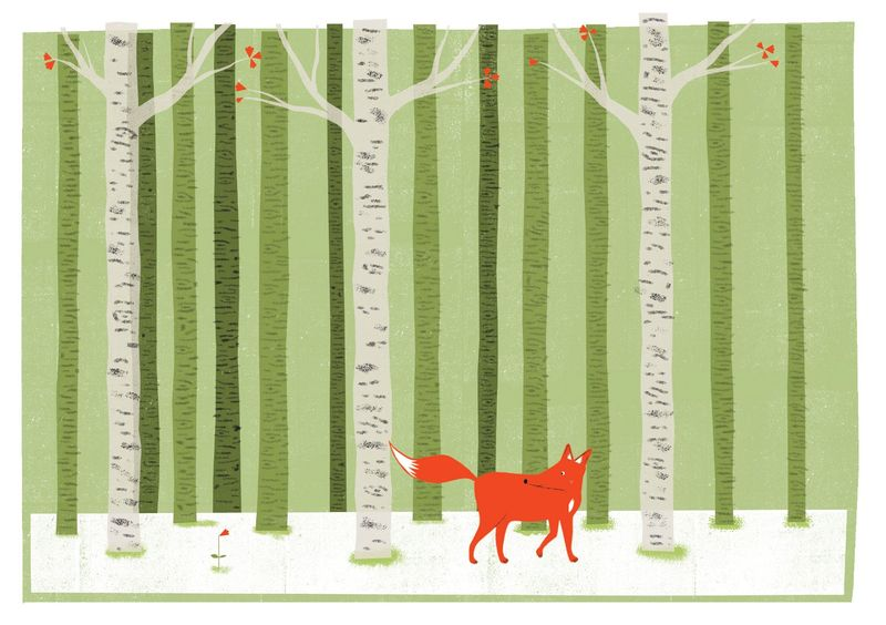 A Foxes Tail 4 by Nicholas Saunders (5 Layer Screen Print) - product images  of