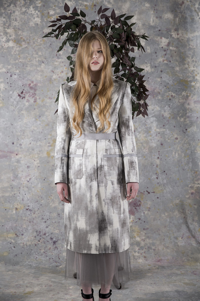 Lily tailored long coat - product images  of