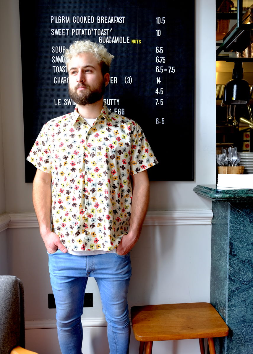 Telefon cotton shirt - product images  of