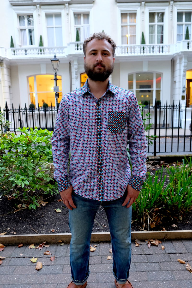 INVADERS DISCO COTTON SHIRT - product images  of