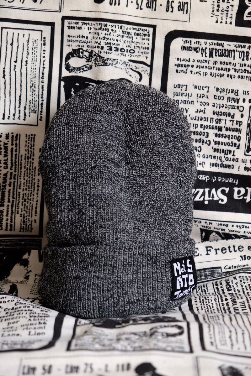 Dark Grey Acrylic Beanie #Buy1Give1  - product images  of