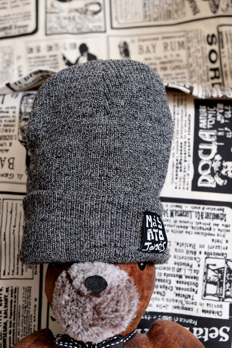 Dark Grey Acrylic Beanie #Buy1Give1  - product image