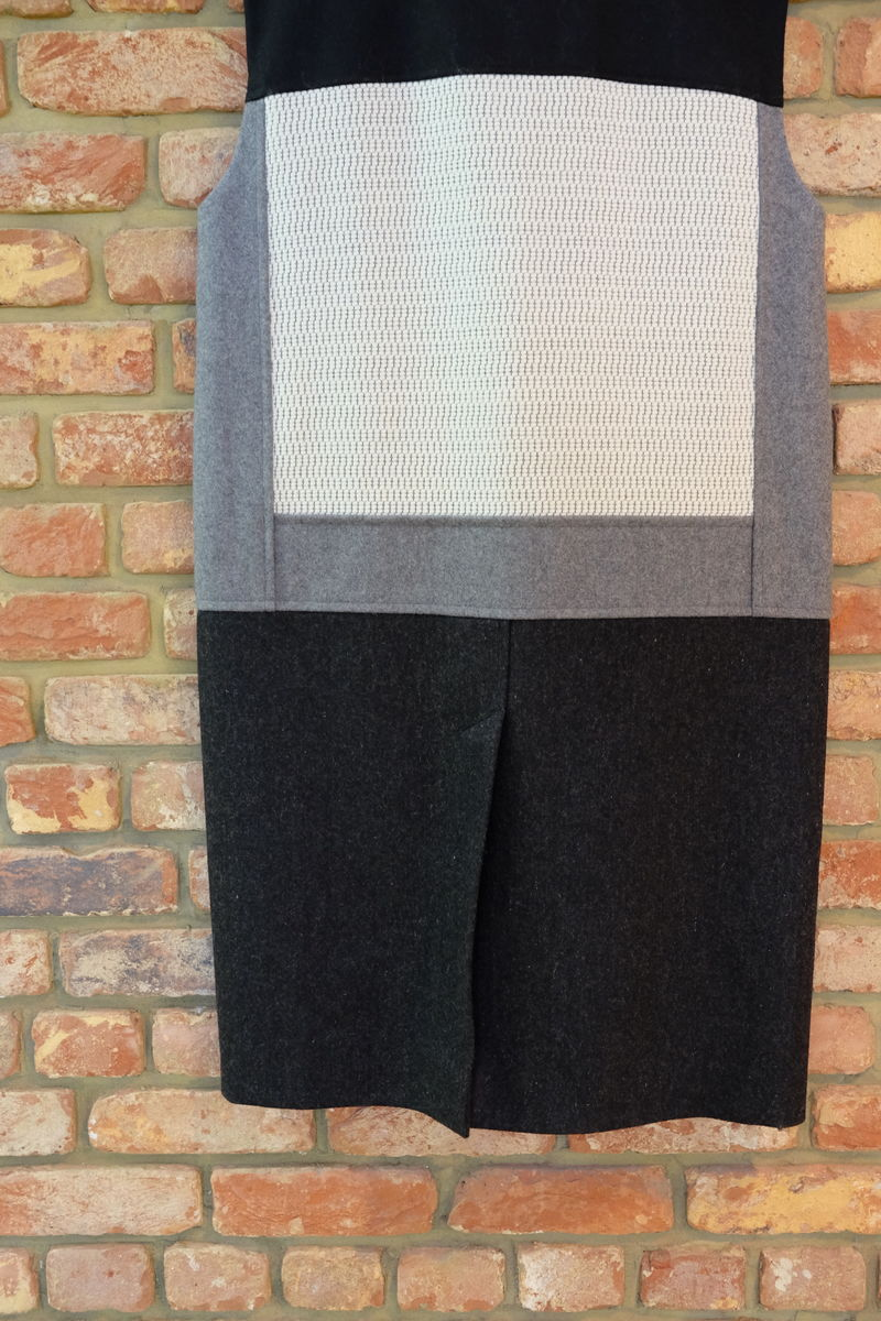 MEN'S WOOL PATCH SLEEVELESS COAT - product images  of