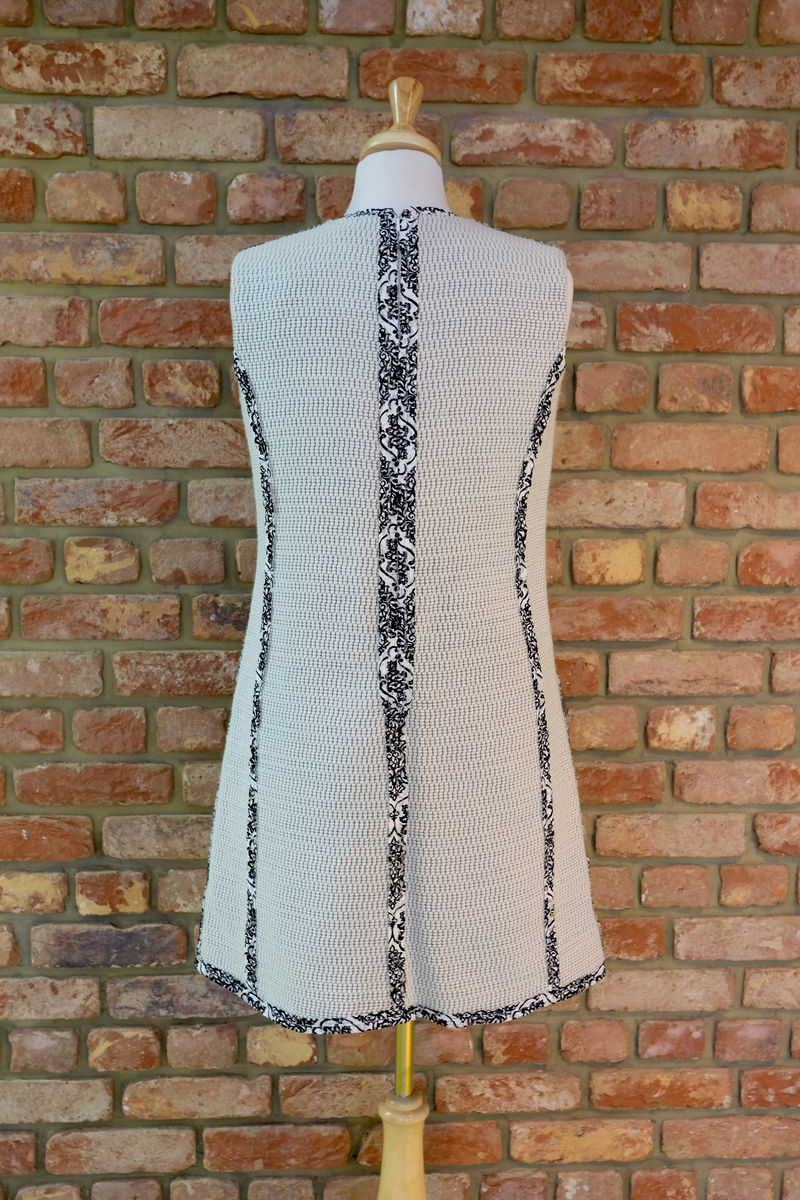 LACE TRIM KNITTED SHIFT DRESS  - product images  of