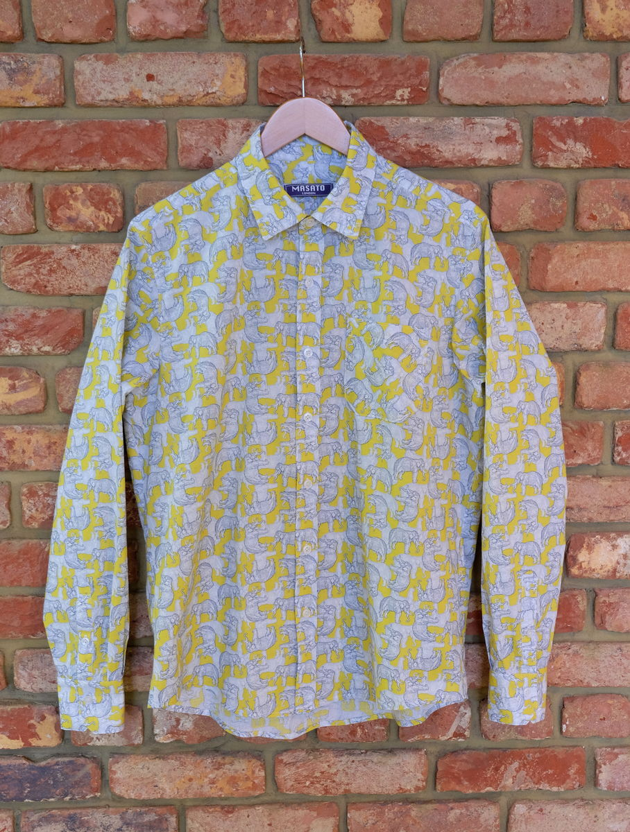 Temple Elephant Cotton Shirt - product image