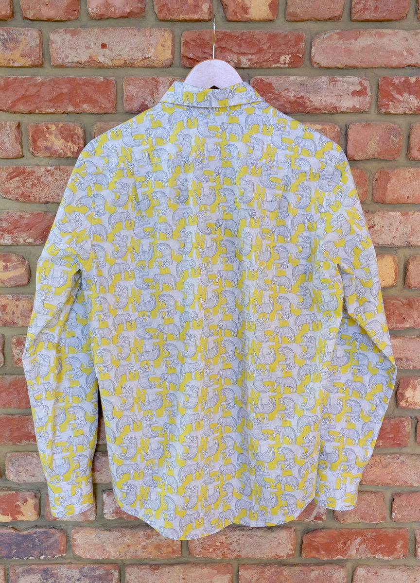 Temple Elephant Cotton Shirt - product images  of