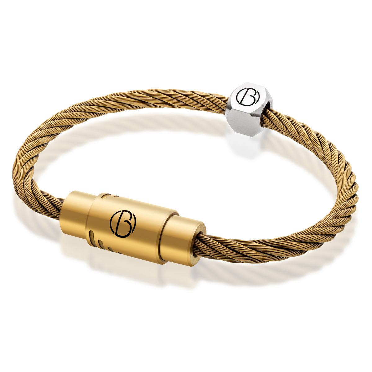 Matte Gold Stainless Steel Bracelet  - product image