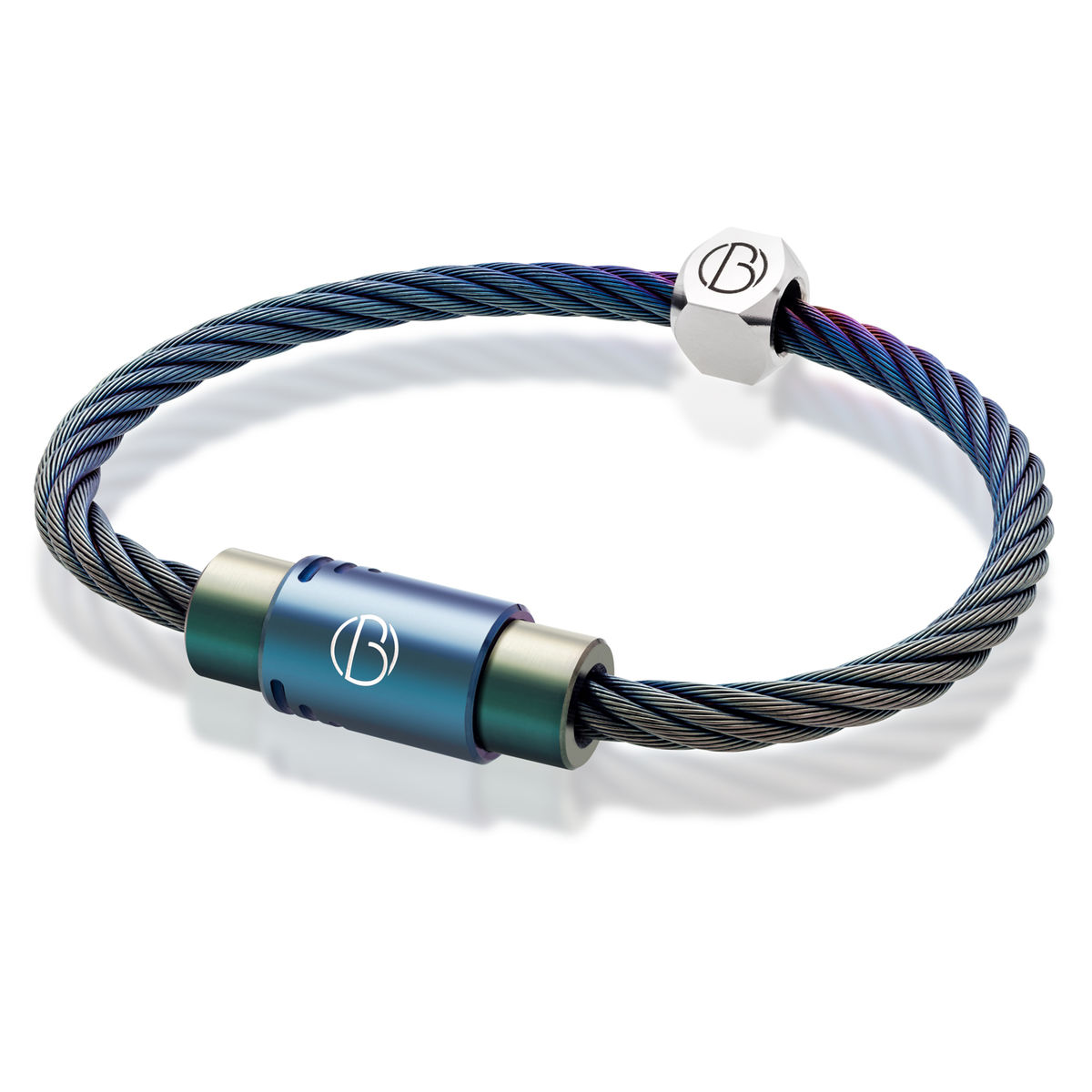 Petrol Stainless Steel Bracelet Bailey of Sheffield - product image