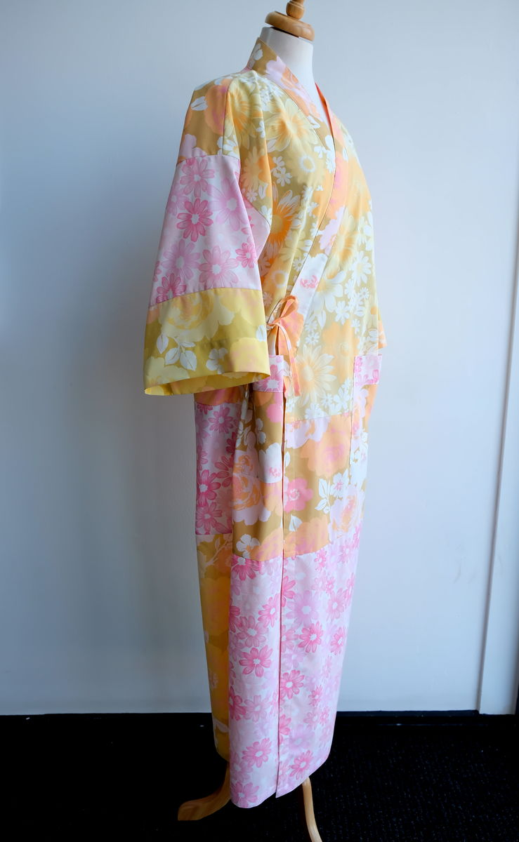 SPRING GARDEN PATCH WORK YUKATA - product images  of