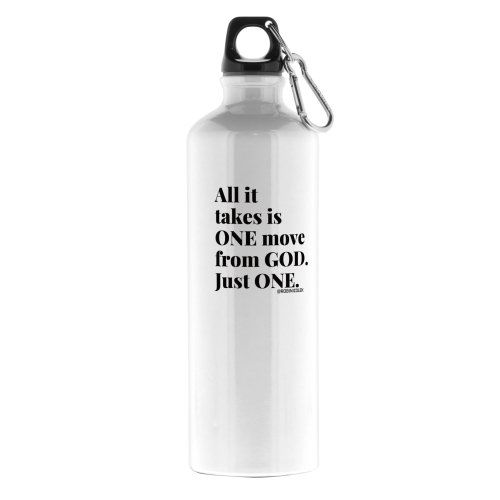 ALL IT TAKES  26 oz. ALUMINUM WATER BOTTLE - product image