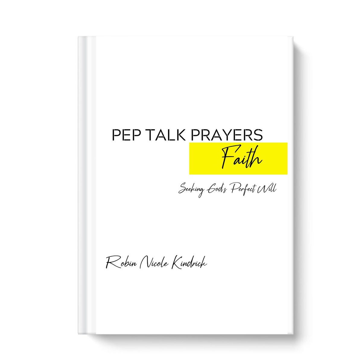 PEP TALK PRAYERS: ON FAITH - product image