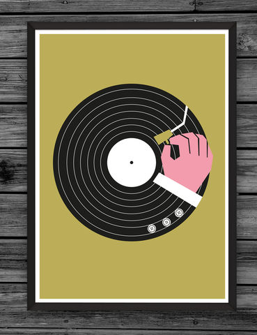 Music,Business,Gold,dale, edwin, murray, print, buy, limited, edition, art, illustrator, graphic artist, screenprint, cool, music, vinyl