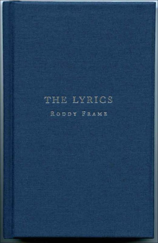 The Lyrics: Roddy Frame - product image