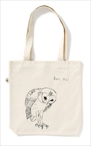 The,Barn,Owl,Tote,Bag,Edwyn Collins Barn Owl Tote Bag, Tote Bag, Edwyn Collins