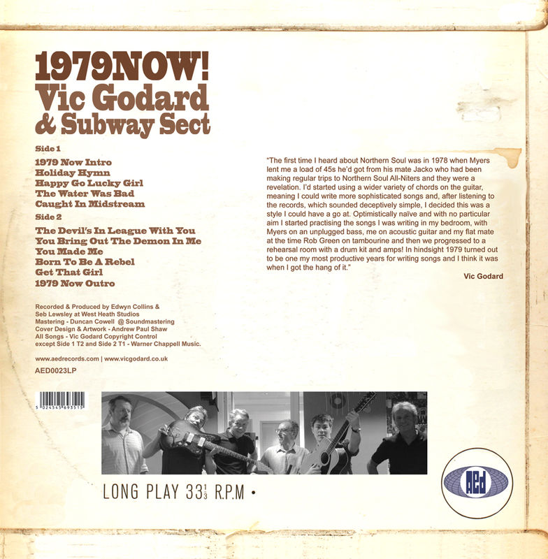 Vic Godard & Subway Sect: 1979 Now! LP (comes with free CD version) - product image