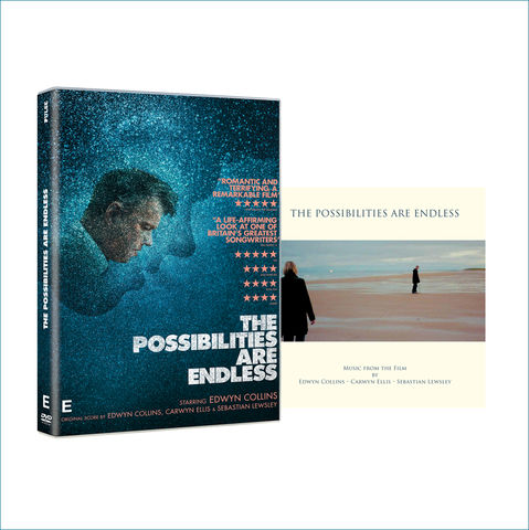 The,Possibilities,are,Endless:,DVD,and,Soundtrack,CD,Bundle,THE POSSIBILITIES ARE ENDLESS, EDWYN COLLINS, EDWYN FILM