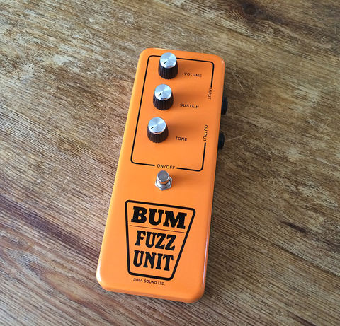THE,BUM,FUZZ,GUITAR,PEDAL,Edwyn Collins, BUM FUZZ, GUITAR PEDAL