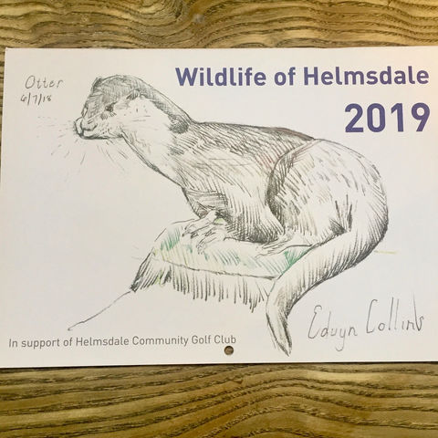Wildlife,of,Helmsdale,-,2019,Calendar,Wildlife of Helmsdale, Edwyn Collins