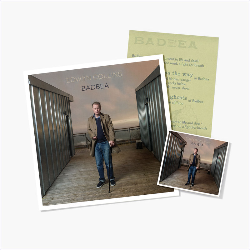 Edwyn Collins: Badbea LP + CD (with A4 Badbea Lyrics Letterpress Print) - product image