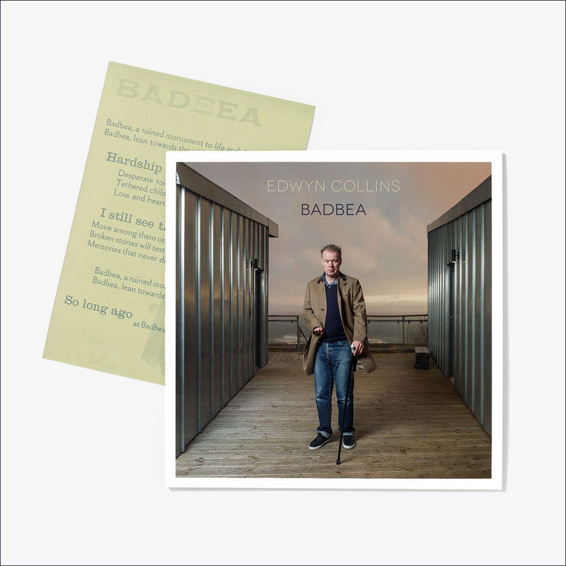 Edwyn Collins: Badbea LP (with A4 Badbea Lyrics Letterpress Print) - product image