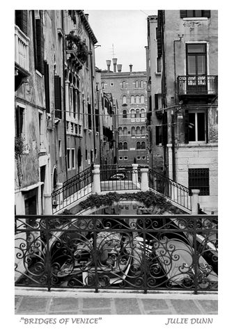 Bridges,of,Venice,Venice Italy, bridge, water, buildings, black and white photography, black and white photos