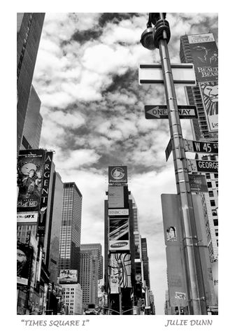 Times,Square,1,NYC, New York City, Times Square, Prudential, Manhattan, black and white photography, B & W photos