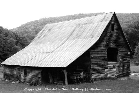 Blue,Ridge,Barn,Barn, Blue Ridge Mountain, Black and White photograpy, photo, mountains