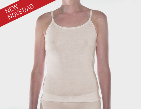 SUSTAINABLE,-,TOP,SEVILLA,underwear, Woman, ecologic, Sustainable, Organic ,Spain,  Cotton , Owl underwear, ropa interior, boxers, mujer, españa, organico, ecologico, , organica, ecologica, cream, beige, natural, sand, top, thisrt