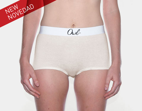 SUSTAINABLE,-,3RD+,SEVILLA,underwear, Woman, ecologic, Sustainable, Organic ,Spain,  Cotton , Owl underwear, ropa interior , mujer, españa, organico, ecologico, , organica, ecologica, cream, beige, natural, sand