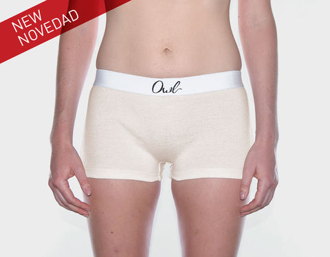 SUSTAINABLE,-,9TH,SEVILLA,underwear, Woman, ecologic, Sustainable, Organic ,Spain,  Cotton , Owl underwear, ropa interior , mujer, españa, organico, ecologico, , organica, ecologica, cream, beige, natural, sand, Culot, boxers