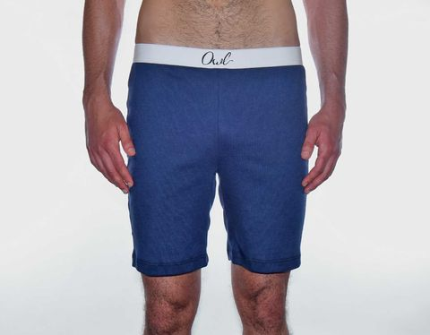 RECYCLED,-9TH_SHORT-,NAVY,BLUE,underwear, men, man, ecologic, Sustainable, Organic , Undyed,  Cotton , Owl underwear, ropa interior, hombre, organico, ecologico, organica, ecologica, calzoncillos, pantalon,corto, Calzoncilos,
