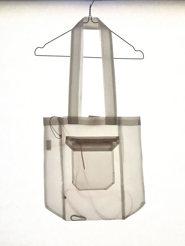 GLIDER_TOTE BAG_WHITE - product images  of