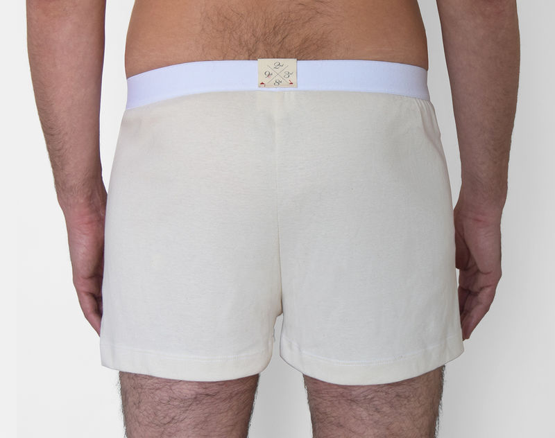 ORGANIC -9TH BOXER- BEIGE - product images  of