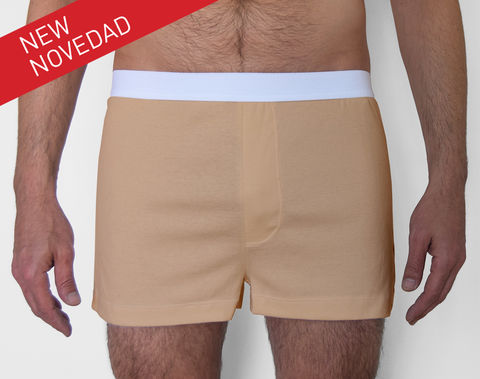 ORGANIC,-9TH,BOXER-,BROWN,underwear, men, man, ecologic, Sustainable, Organic , Undyed,  Cotton , Owl underwear, ropa interior, hombre, organico, ecologico, organica, ecologica, calzoncillos, boxers, trunks