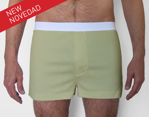 ORGANIC,-9TH,BOXER-,GREEN,underwear, men, man, ecologic, Sustainable, Organic , Undyed,  Cotton , Owl underwear, ropa interior, hombre, organico, ecologico, organica, ecologica, calzoncillos, boxers, trunks