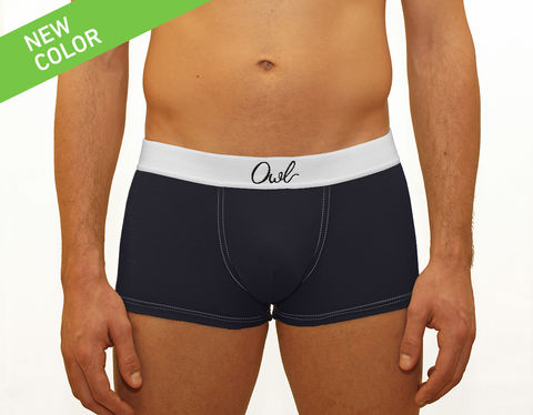 COLORFUL,-9TH-,DEEP,BLUE,SEA,underwear, men, man, ecologic, Sustainable, Organic , Undyed,  Cotton , Owl underwear, ropa interior, hombre, organico, ecologico, organica, ecologica, calzoncillos, azul marino, blue, sea,, boxers, trunks