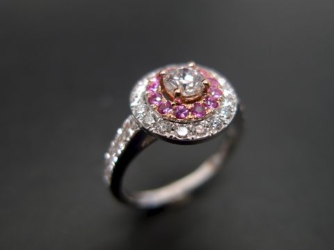 Diamond,and,Pink,Sapphire,Ring,Jewelry  Ring  Band  wedding band  engagement ring  diamond band ring  diamond ring wedding diamond ring  diamond wedding ring  engagement diamond  diamond engagement pink sapphire ring  pink sapphire  sapphire ring  pink  wedding sapphire