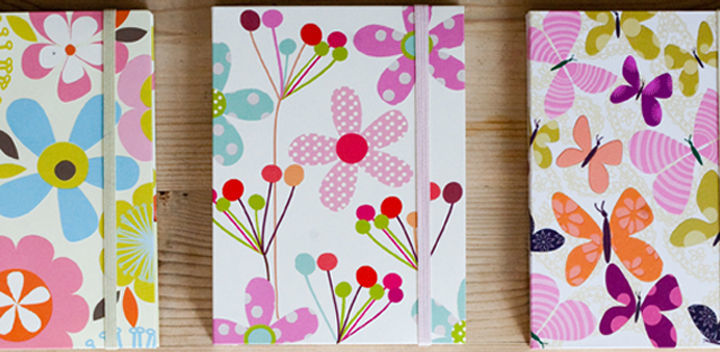 buy hardbacked floral notebooks online