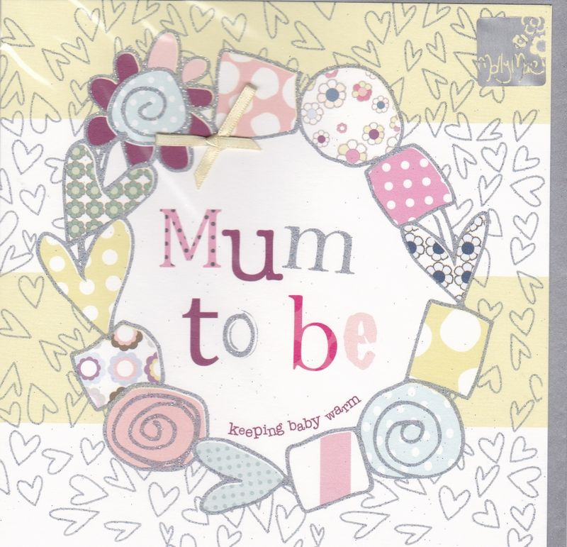 Keeping Baby Warm Mum To Be Card - product images  of