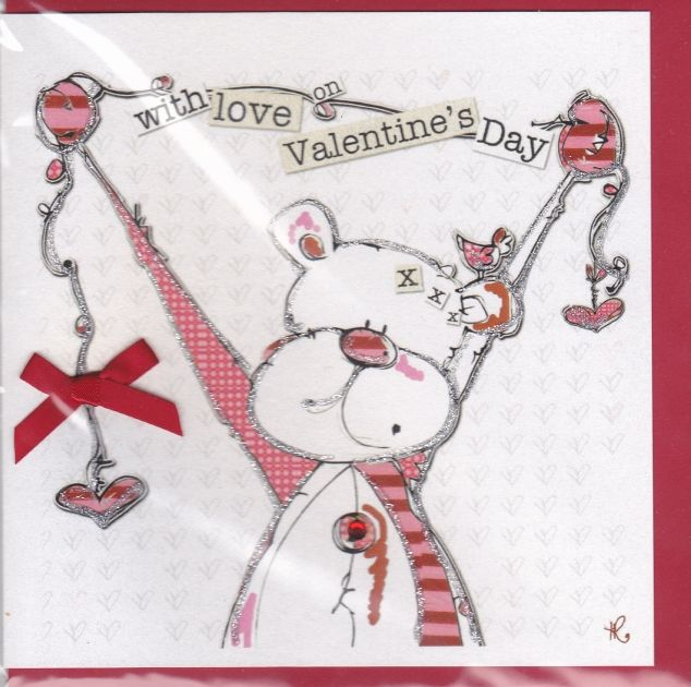 With Love on Valentine's Day Card - product images