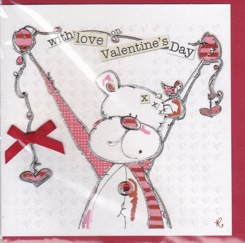 With,Love,on,Valentine's,Day,Card,buy valentines day card online, buy cards for valentines day card online, valentine cards, one i love valentines day card, one i love card, partner card for valentines day