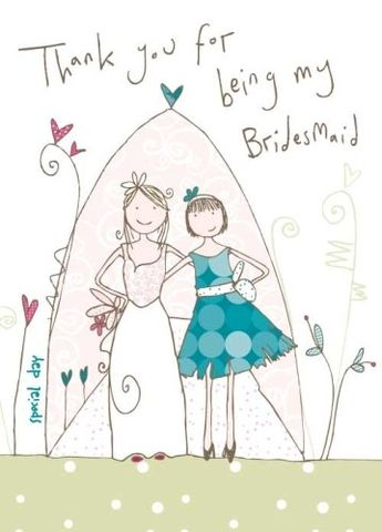 Thank,You,For,Being,My,Bridesmaid,-,Wedding,Card,buy bridesmaid card online, bridesmaid thank you card, wedding party thannk you cards, cards for bridesmaids, special bridesmaid card