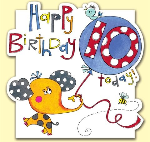 Elephant,10,Today,Birthday,Card,buy 10th birthday card online, buy elephant 10th birthday card online, buy childs 10th birthday card online, buy boys age ten card, buy girls age ten card,10 today birthday card, age 10 birthday card, tenth birthday card, age ten birthday card, age 10 bir