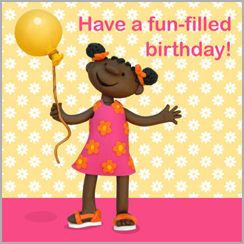 Girl,and,Balloon,Birthday,Card,buy children's birthday cards online, buy little girls birthday card online, girls birthday card, birthday cards for girls, birthday cards for children, birthday girl card, birthday princess birthday card, card for little girl,